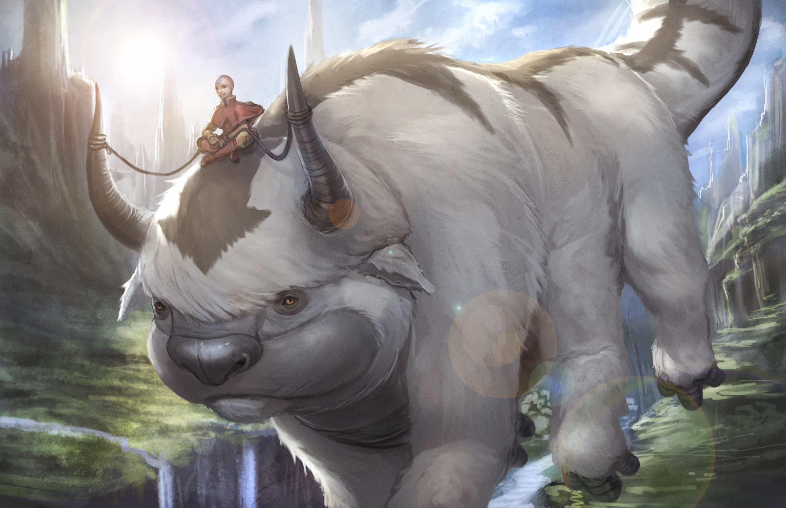 Avatar The Last Airbender Hd Wallpaper Background Image