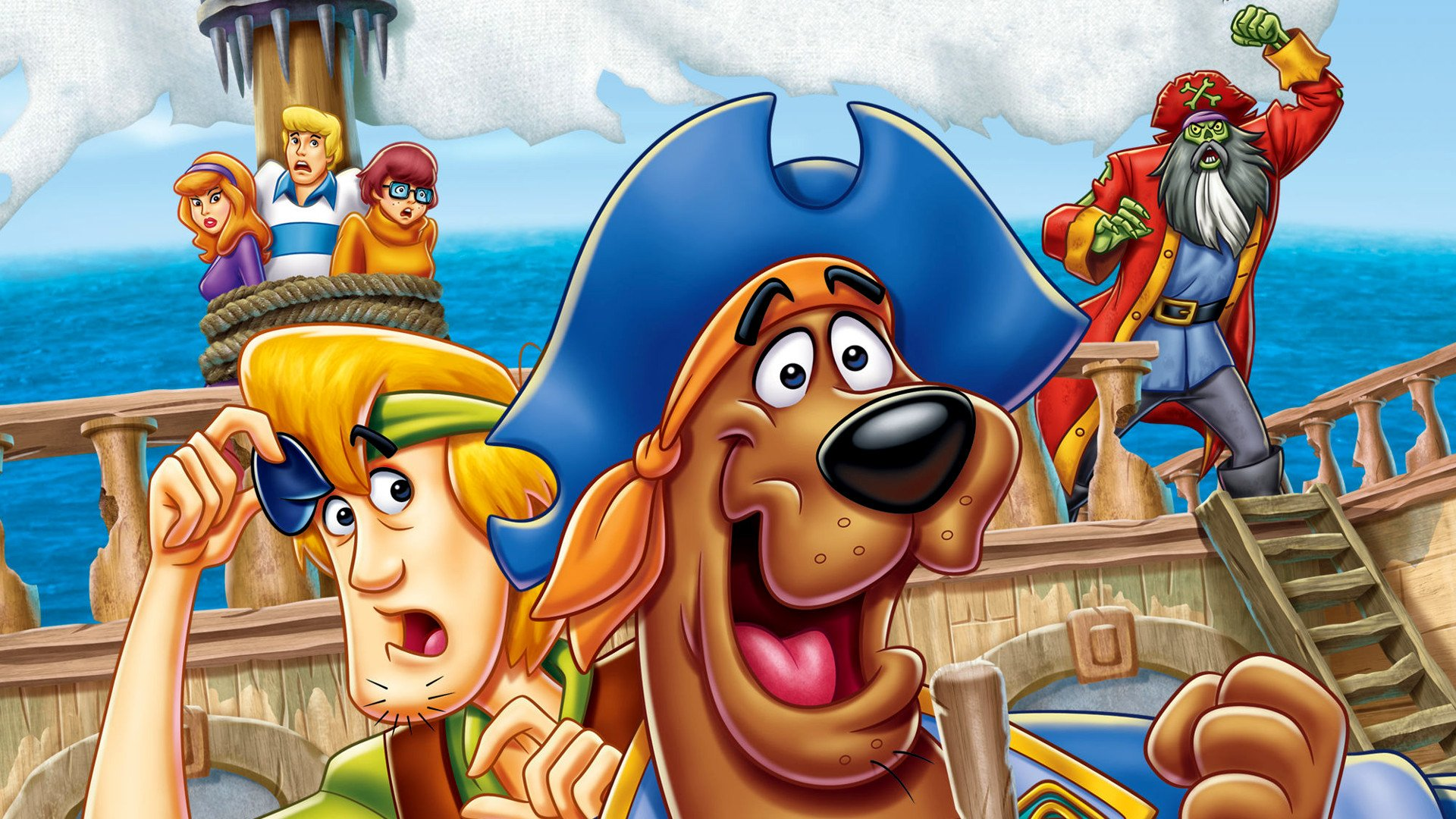 Scooby-Doo! Pirates Ahoy! HD Wallpaper   Background Image ...