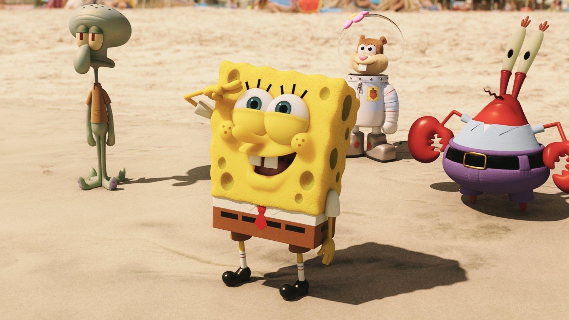 The Spongebob Movie Sponge Out Of Water Hd Wallpaper Background