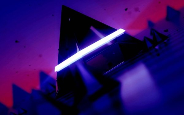 Abstract Triangle Light Purple HD Wallpaper   Background Image