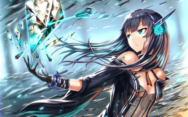 Anime Original Technology Diamond HD Wallpaper   Background Image