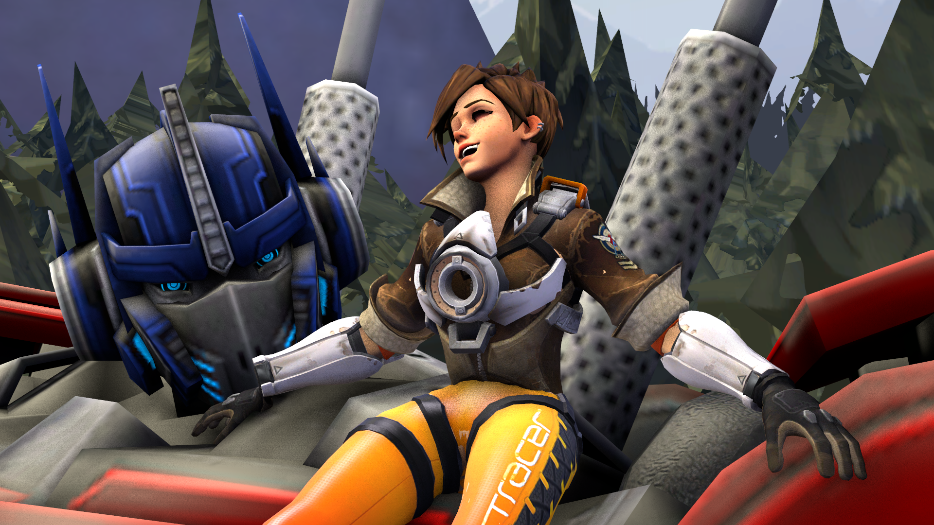 Tracer feet overwatch How Tall