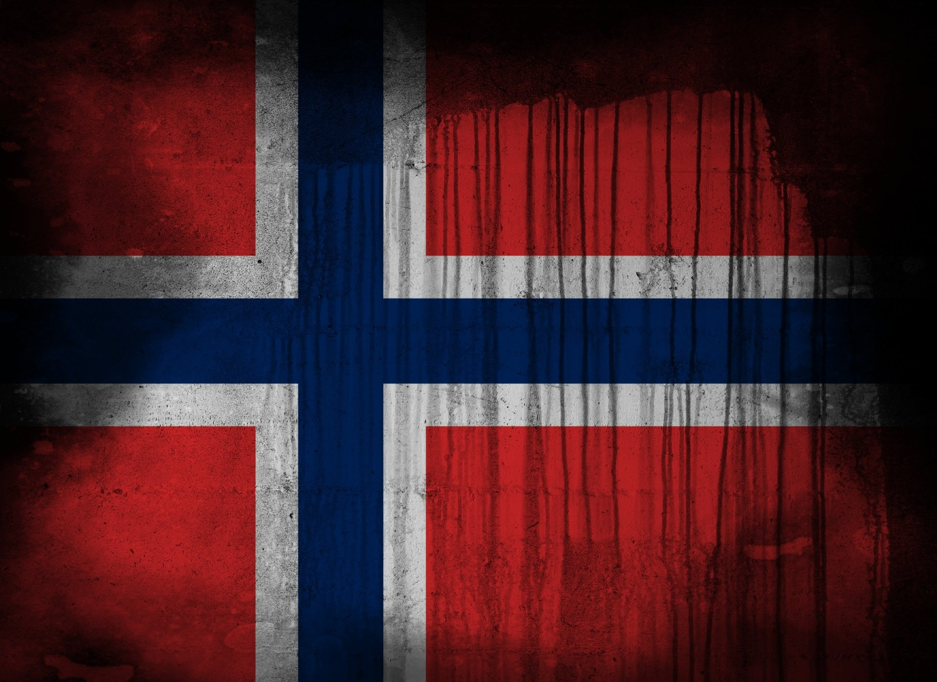 Diversen - Flag Of Norway  Wallpaper