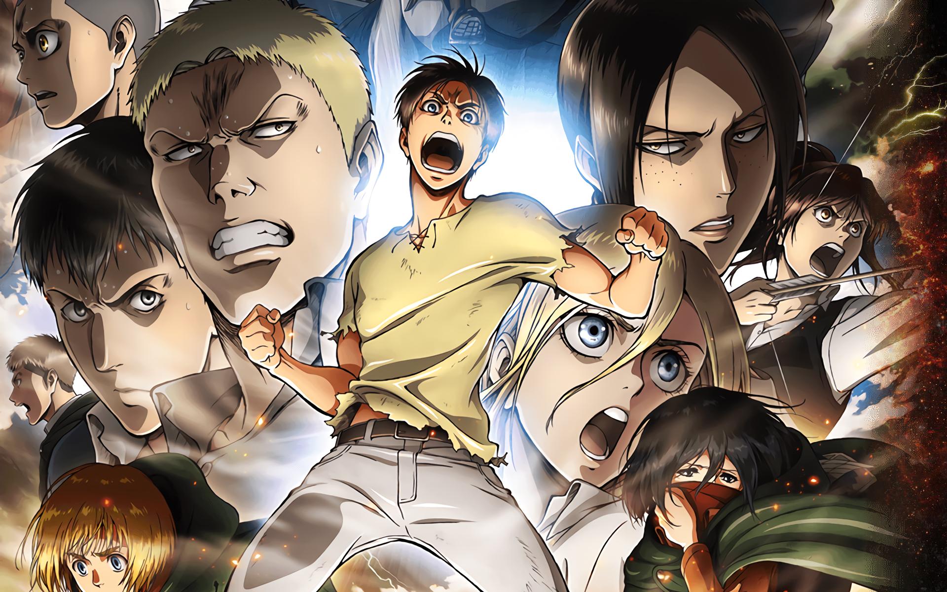 Shingeki No Kyojin Season 2 Hd Wallpaper Background Image