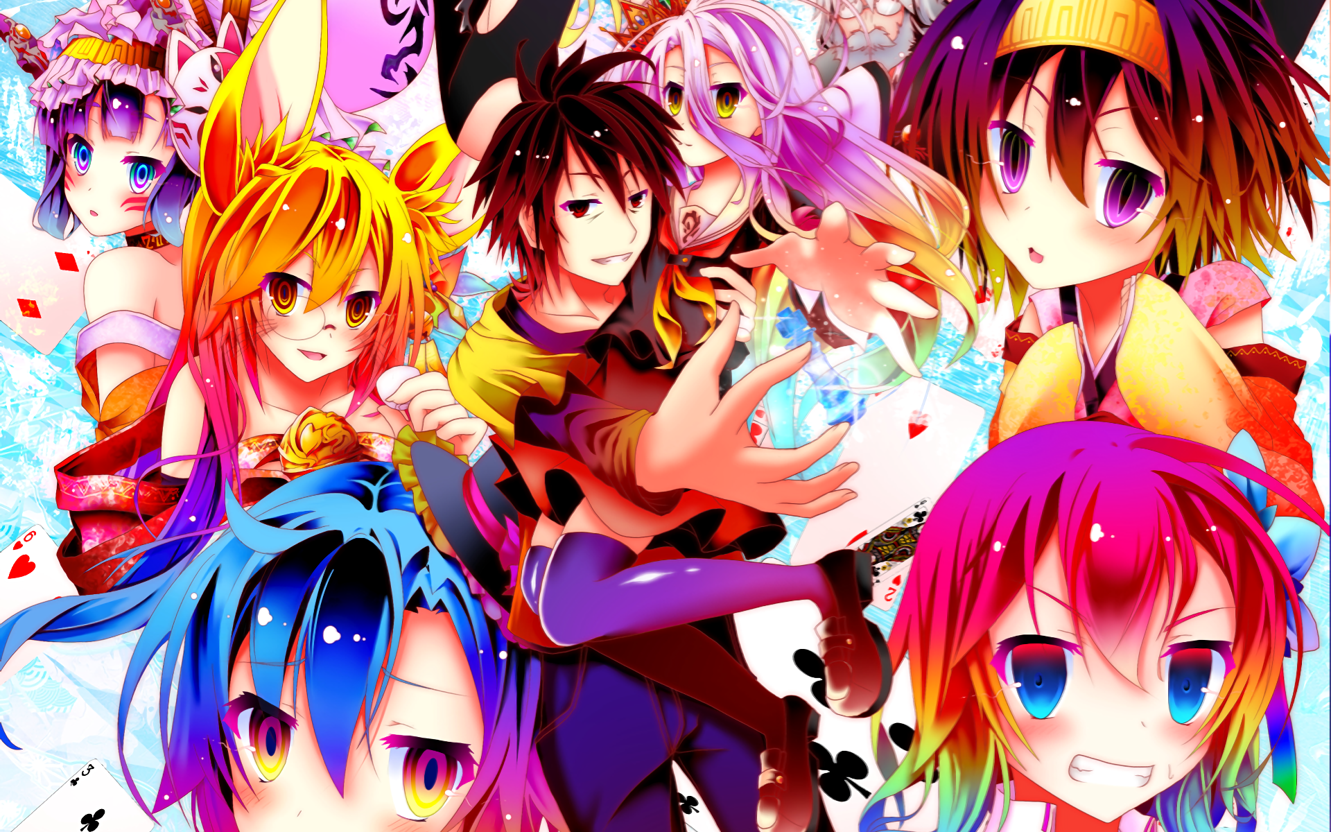 No Game No Life HD Wallpaper | Background Image | 1920x1200 | ID:818431 - Wallpaper Abyss