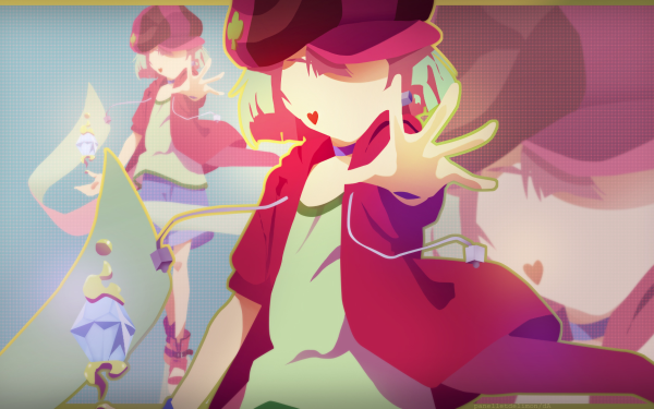 Anime No Game No Life Tet Hat Collar Shorts Minimalist HD Wallpaper | Background Image