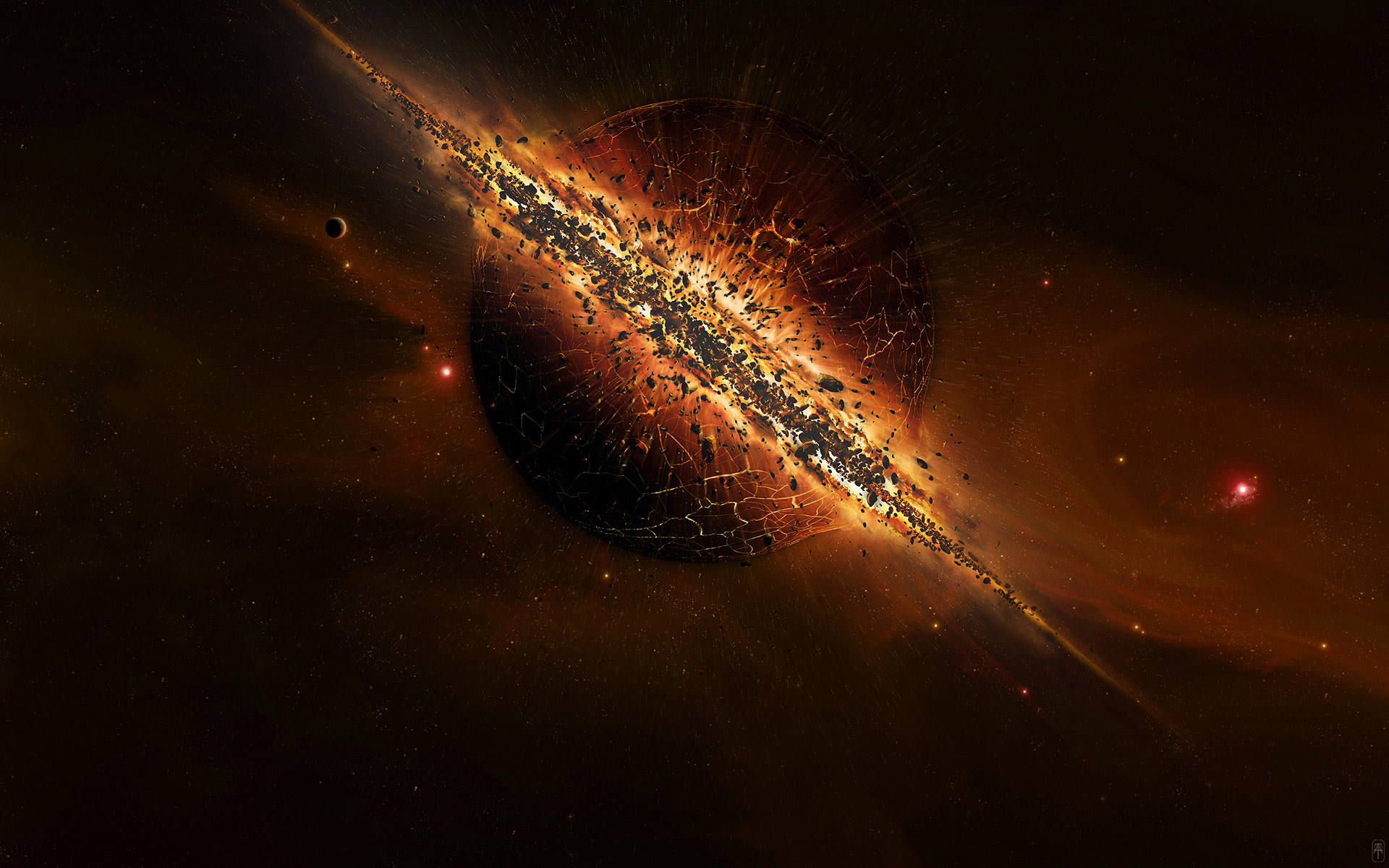 Explosion full hd wallpaper and background image - Space wallpaper large ...