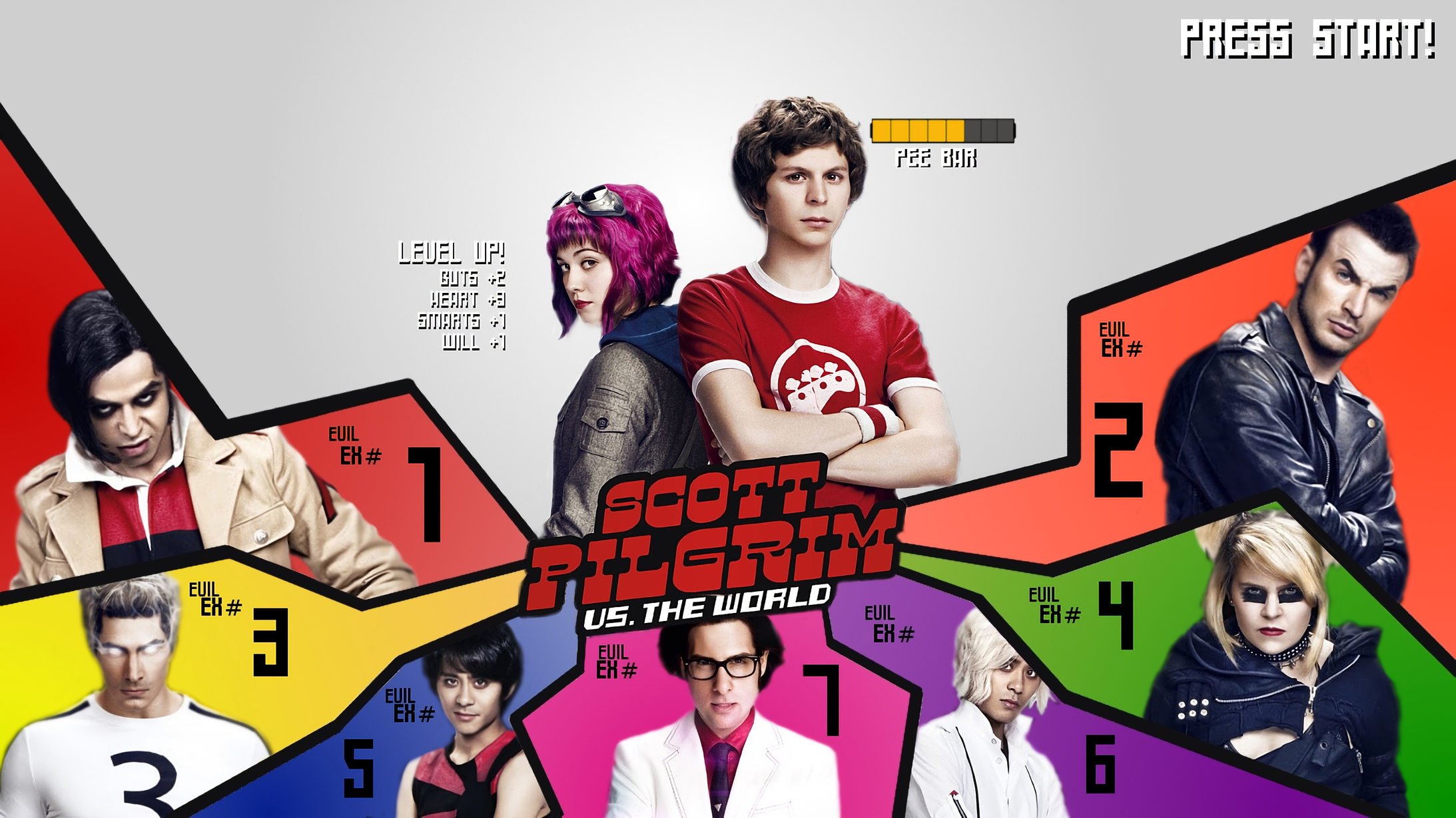 28 Scott Pilgrim Hd Wallpapers Background Images Wallpaper Abyss