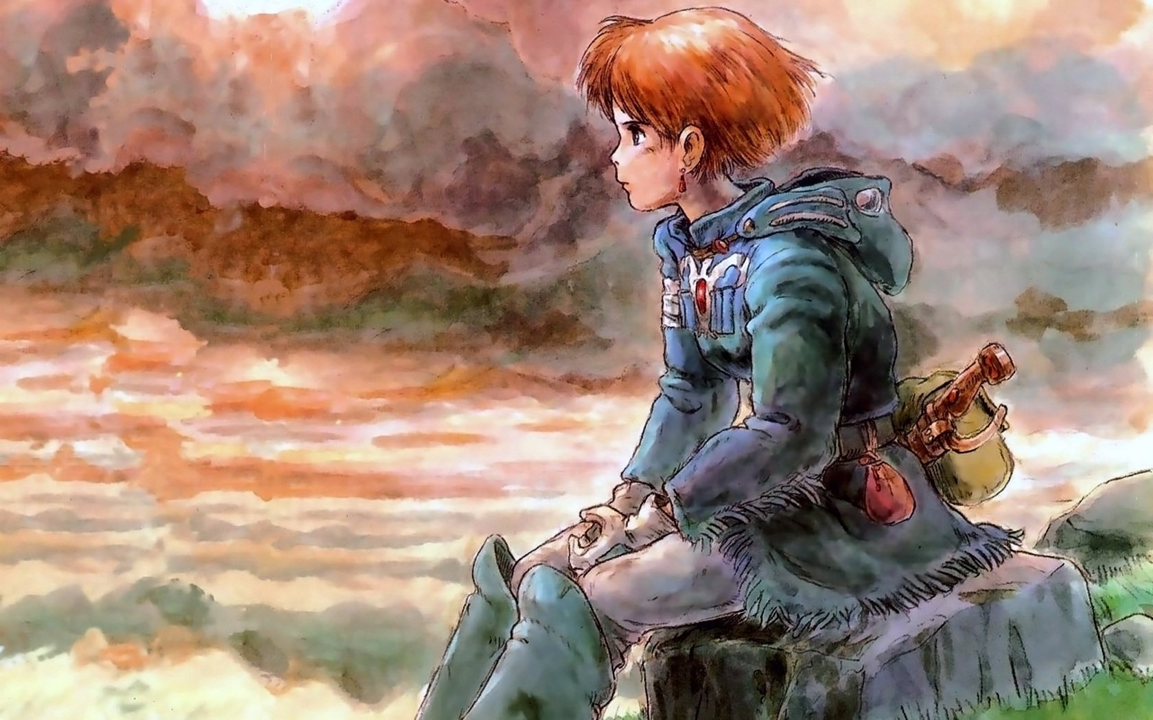 Movie - Nausicaä of the Valley of the Wind  Nausicaä Valley Anime Wallpaper
