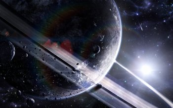 Sci Fi - Planetary Ring Wallpapers and Backgrounds ID : 82011