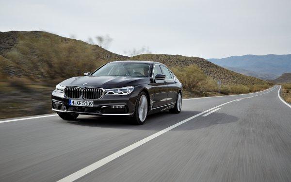 Vehicles BMW 7 Series BMW Car Black Car Luxury Car HD Wallpaper | Background Image