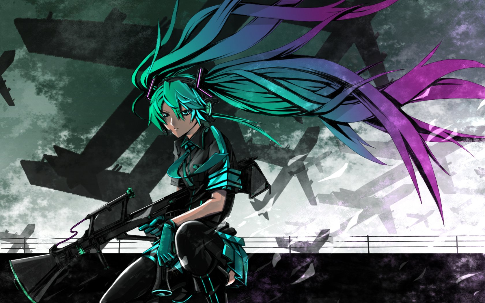 64 Love Is War Vocaloid Hd Wallpapers Background Images