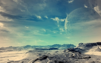 Fantascienza - Planet Rise Wallpapers and Backgrounds ID : 82253