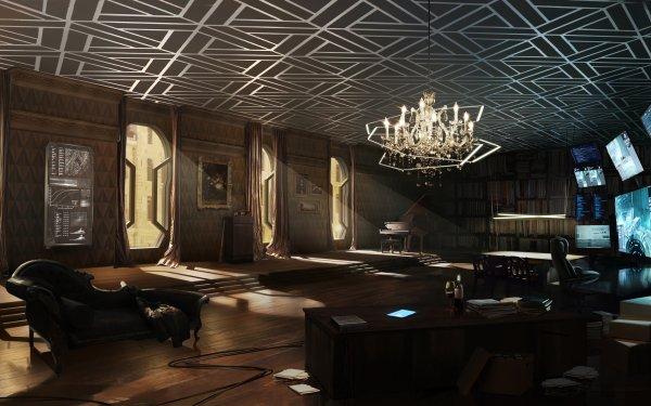 Video Game Deus Ex: Mankind Divided Deus Ex Room HD Wallpaper | Background Image