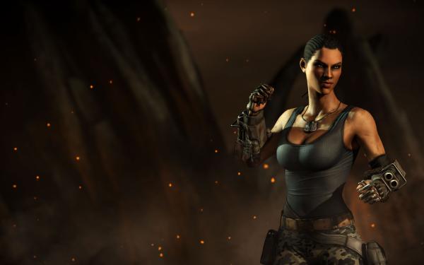 Video Game Mortal Kombat X Mortal Kombat Jacqui Briggs HD Wallpaper | Background Image