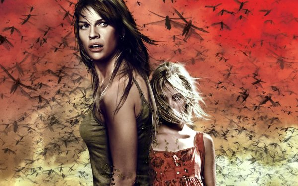 Movie The Reaping Annasophia Robb Hilary Swank HD Wallpaper | Background Image