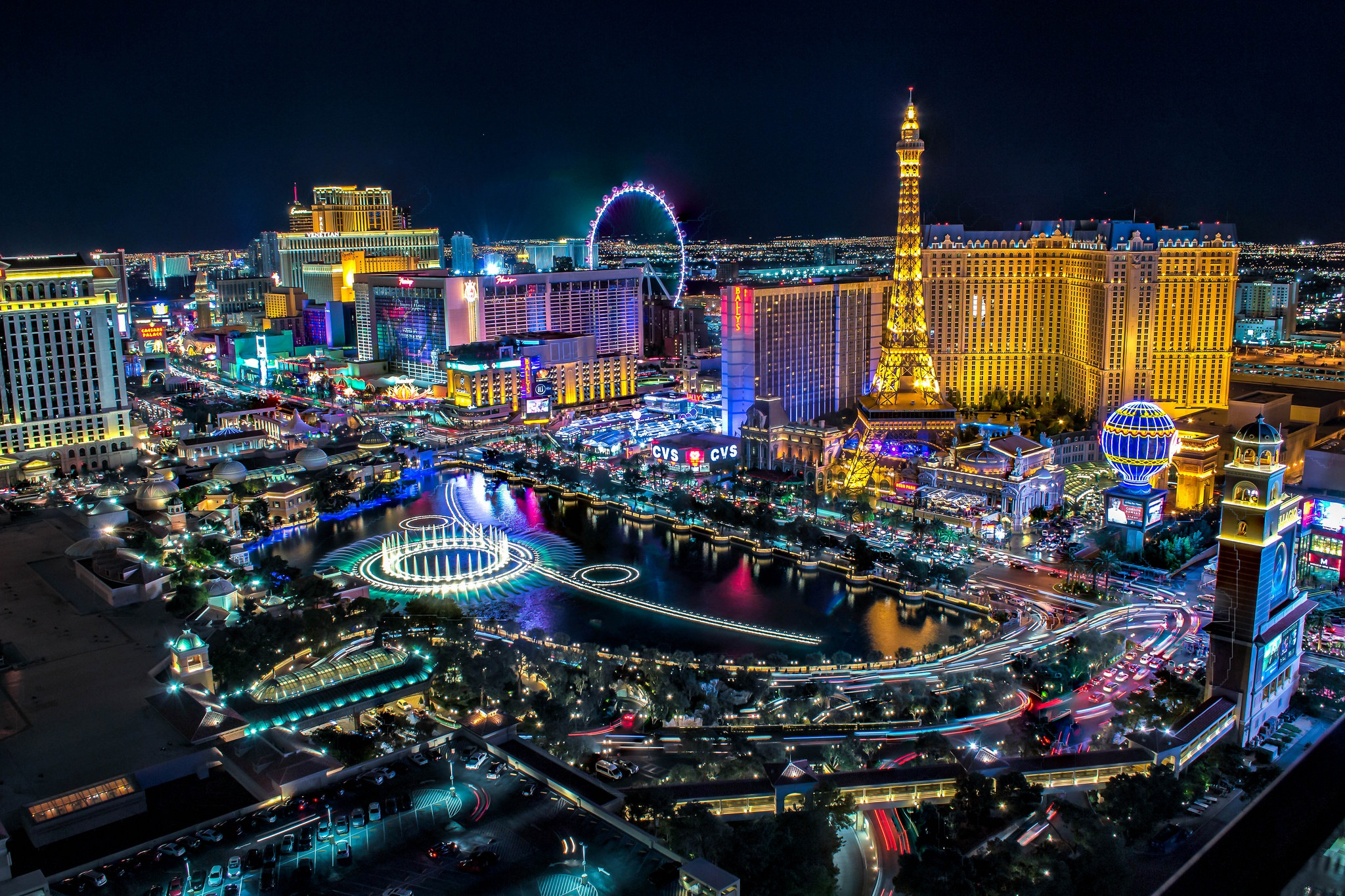 Las Vegas Hd Wallpaper Background Image 2048x1365 Id 825871