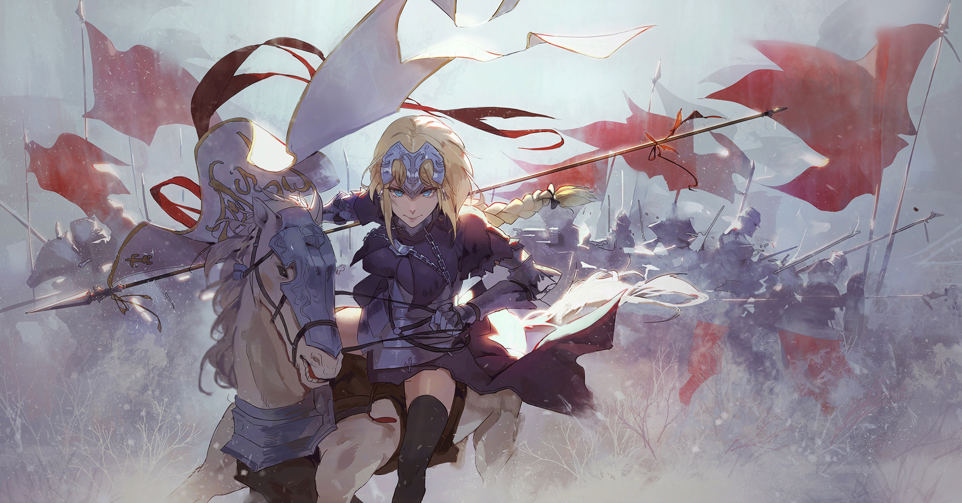 Fate Apocrypha Wallpaper And Background 1900x993 Id 825916