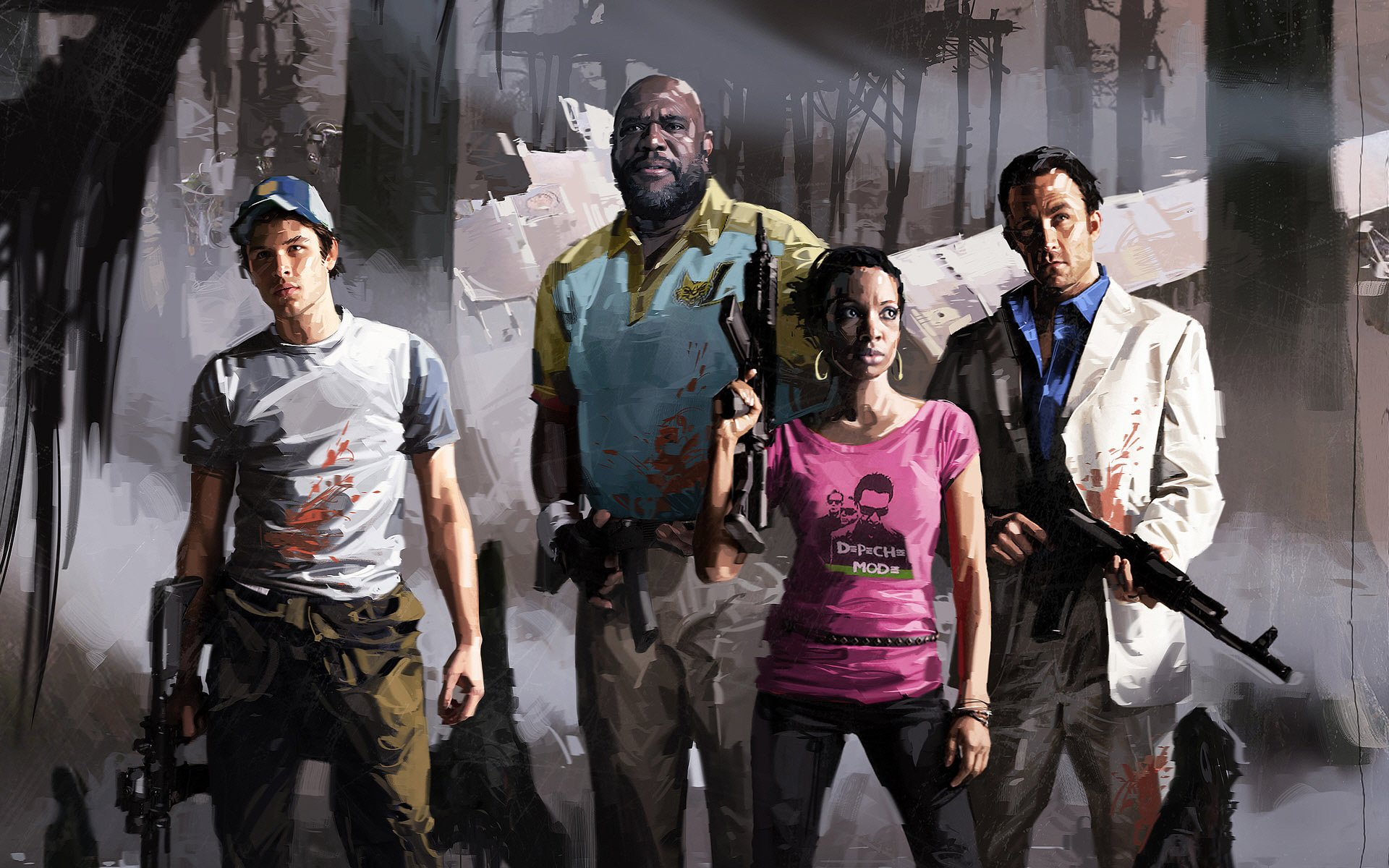 124 Left 4 Dead Hd Wallpapers Background Images Wallpaper Abyss