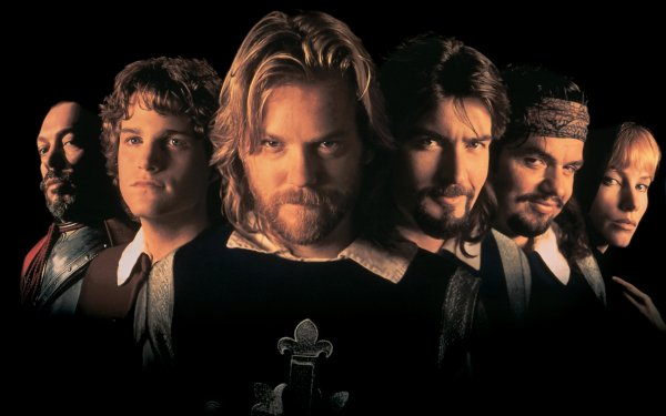 Movie The Three Musketeers (1993) Oliver Platt Charlie Sheen Kiefer Sutherland Chris O'Donnell Rebecca De Mornay HD Wallpaper   Background Image