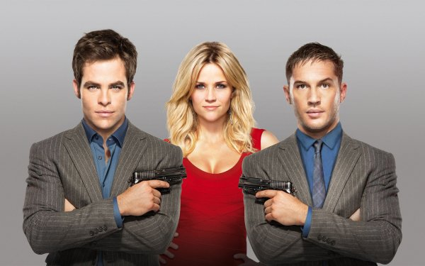 Movie This Means War Tom Hardy Reese Witherspoon Chris Pine HD Wallpaper | Background Image