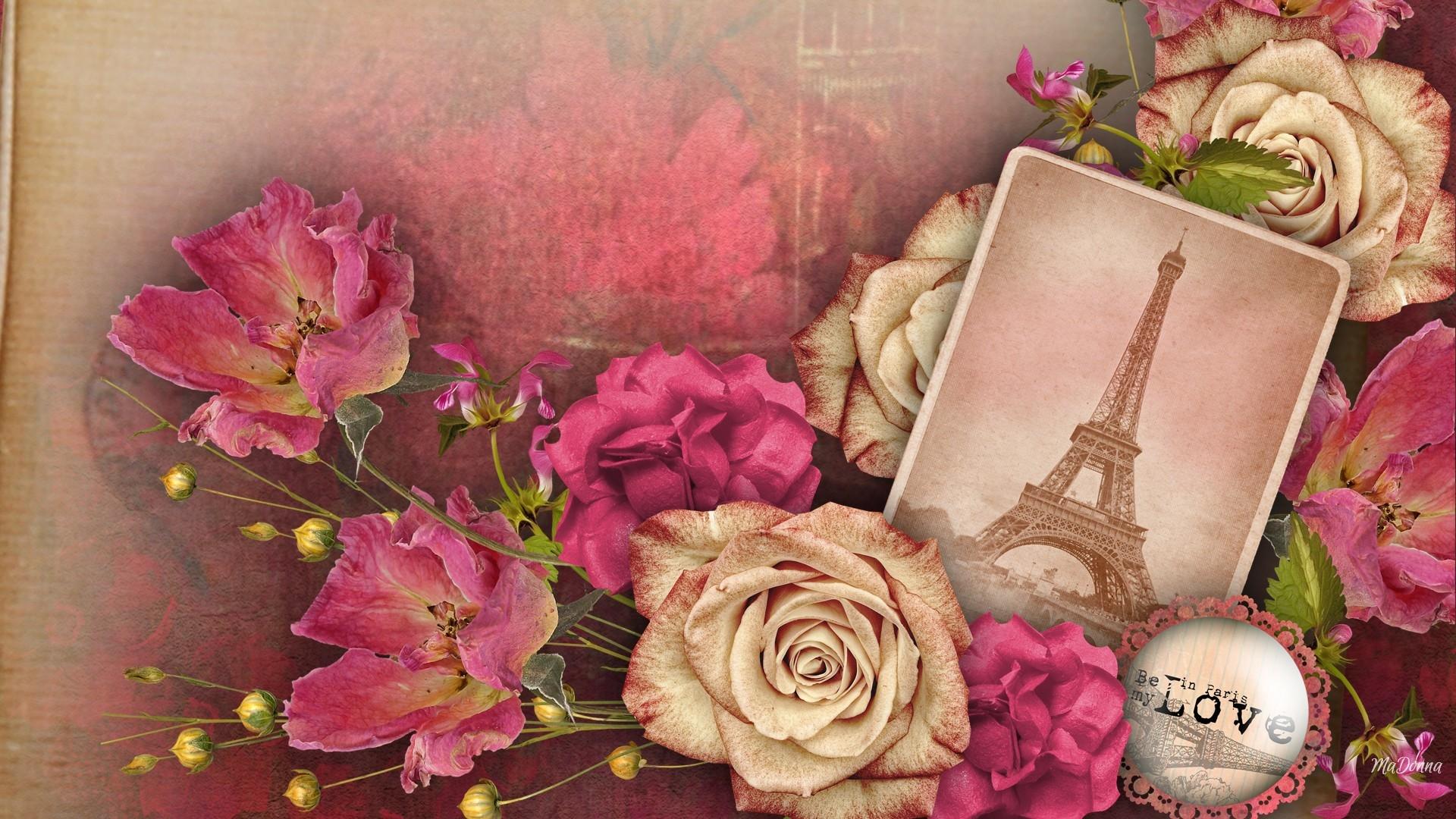 Memories Of Paris Full HD Wallpaper And Background Image
