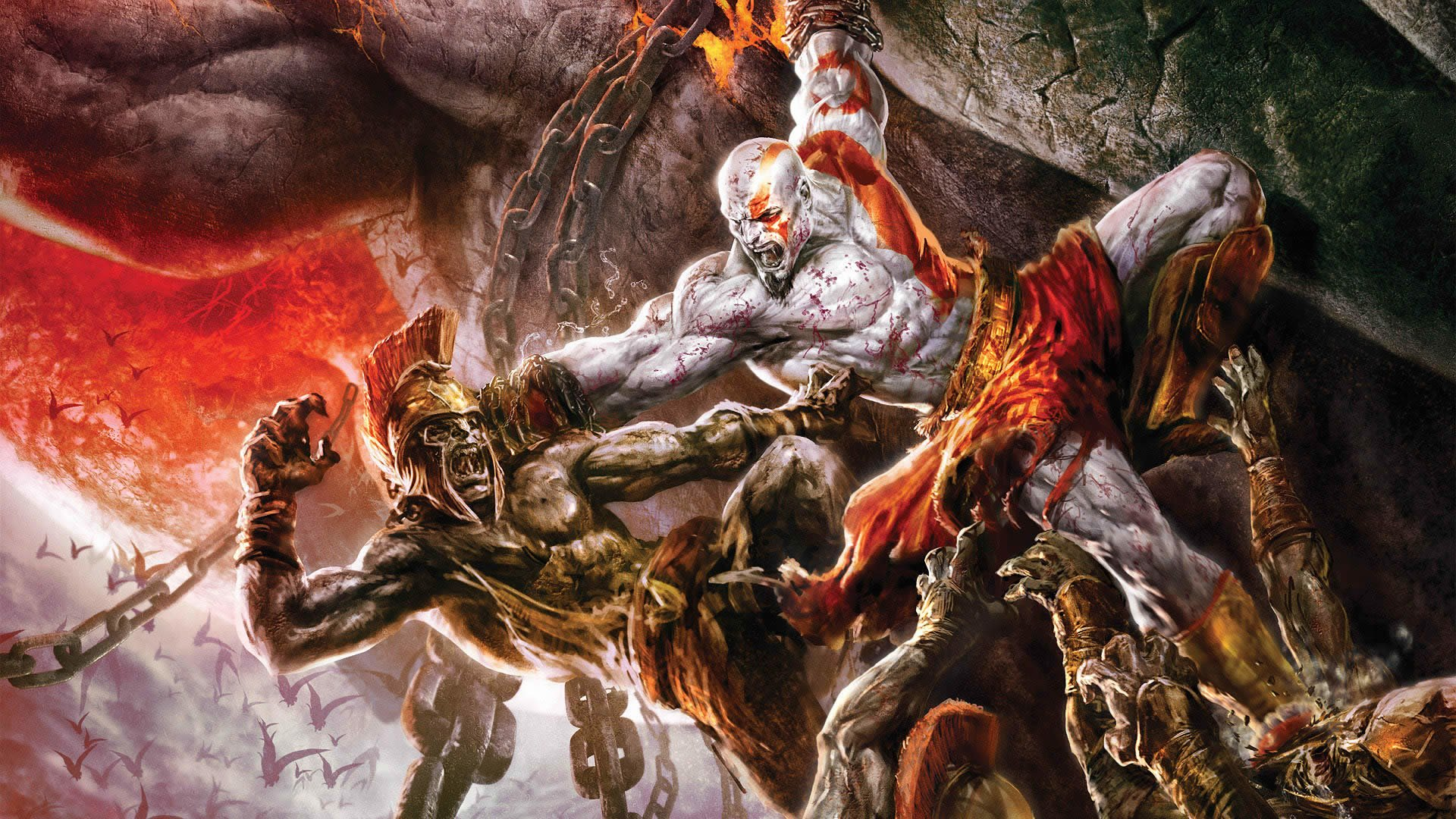 God Of War Iii Hd Wallpaper Hintergrund 1920x1080 Id 82741