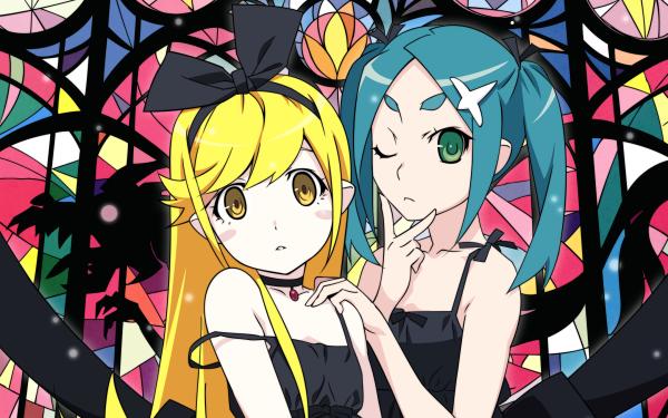 Anime Monogatari (Series) Shinobu Oshino Yotsugi Ononoki HD Wallpaper   Background Image