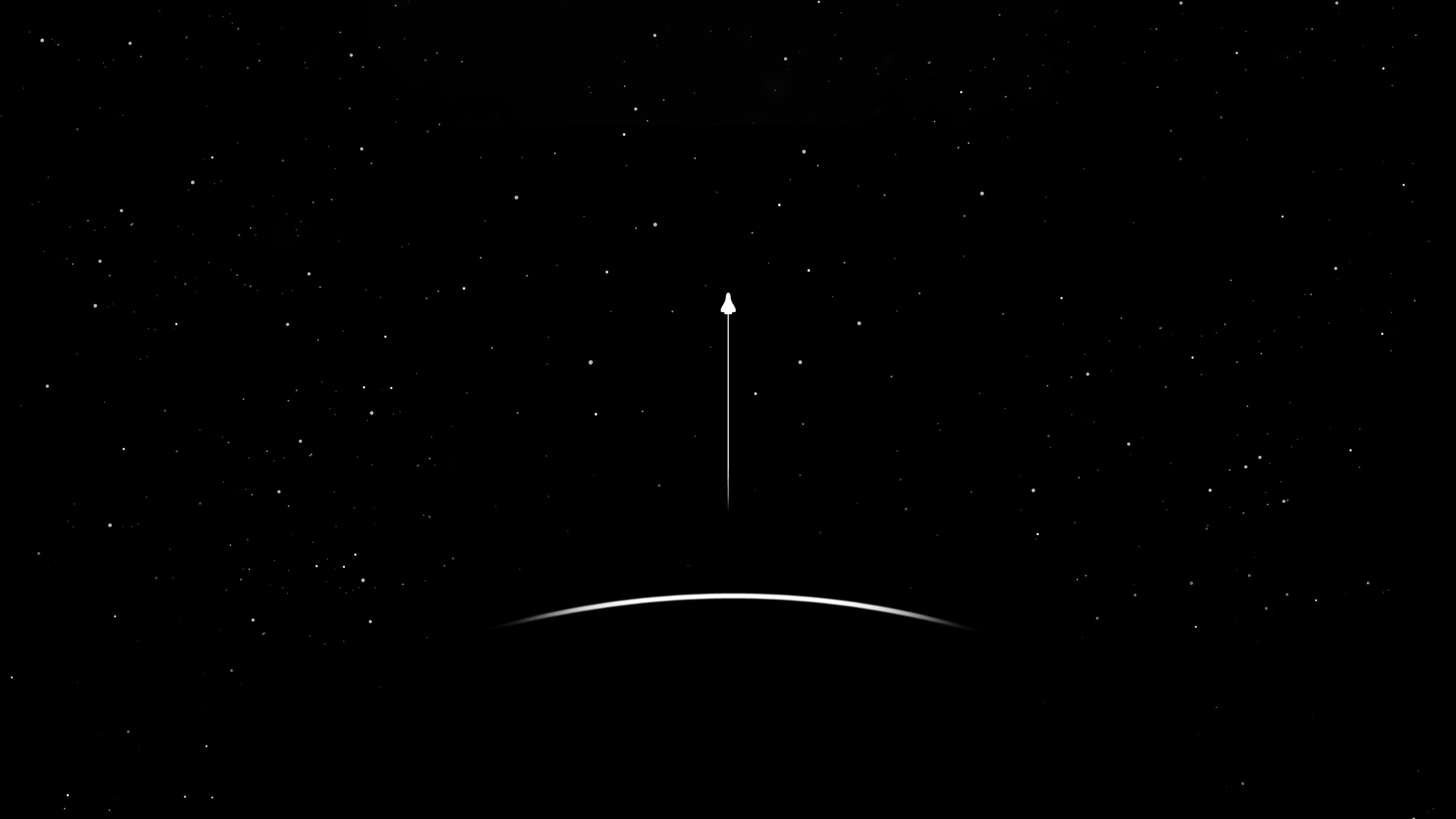 Nave Espacial 4k Ultra Papel De Parede Hd Plano De Fundo