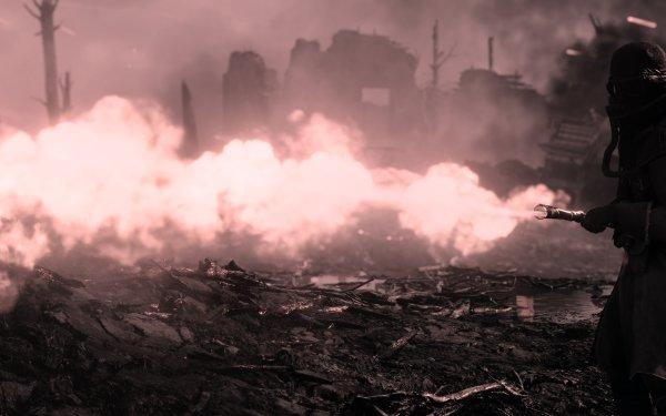 Video Game Battlefield 1 Battlefield Flamethrower HD Wallpaper | Background Image