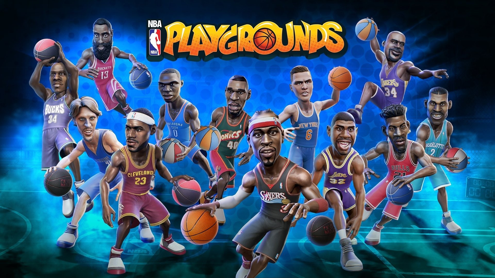 2 NBA Playgrounds HD Wallpapers