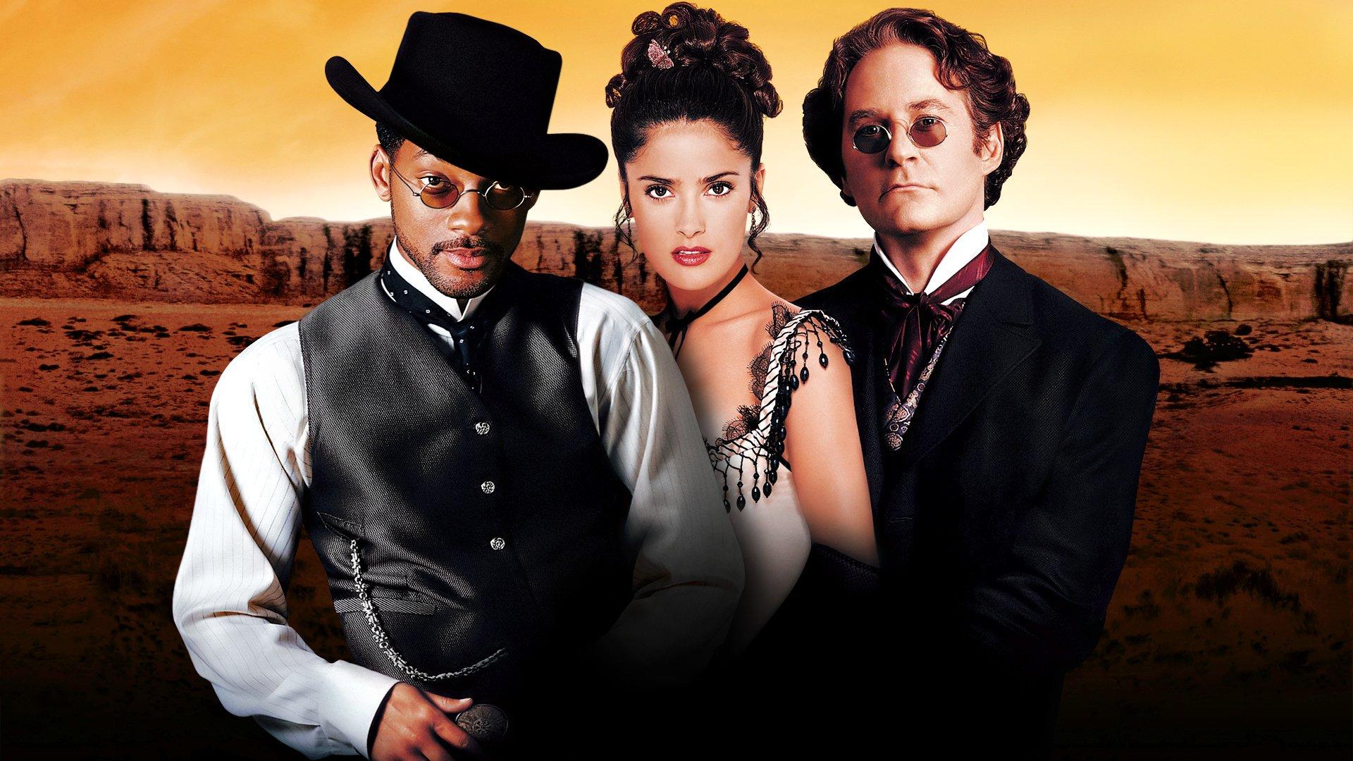 Movie - Wild Wild West  Salma Hayek Will Smith Kevin Kline Wallpaper