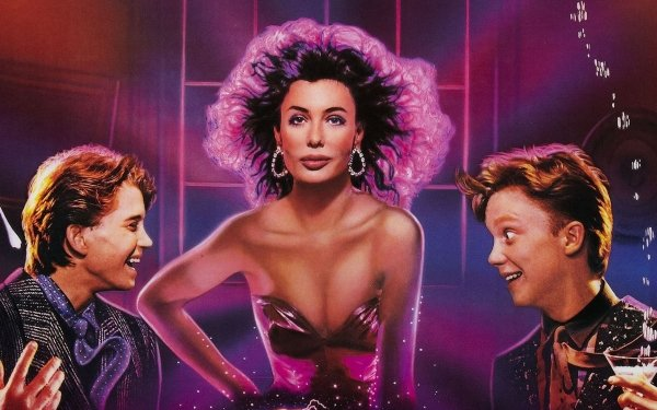 Movie Weird Science Kelly LeBrock Anthony Michael Hall Ilan Mitchell-Smith HD Wallpaper | Background Image
