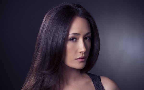 Celebrity Maggie Q Actresses United States Actress Brunette Brown Eyes Face HD Wallpaper | Background Image