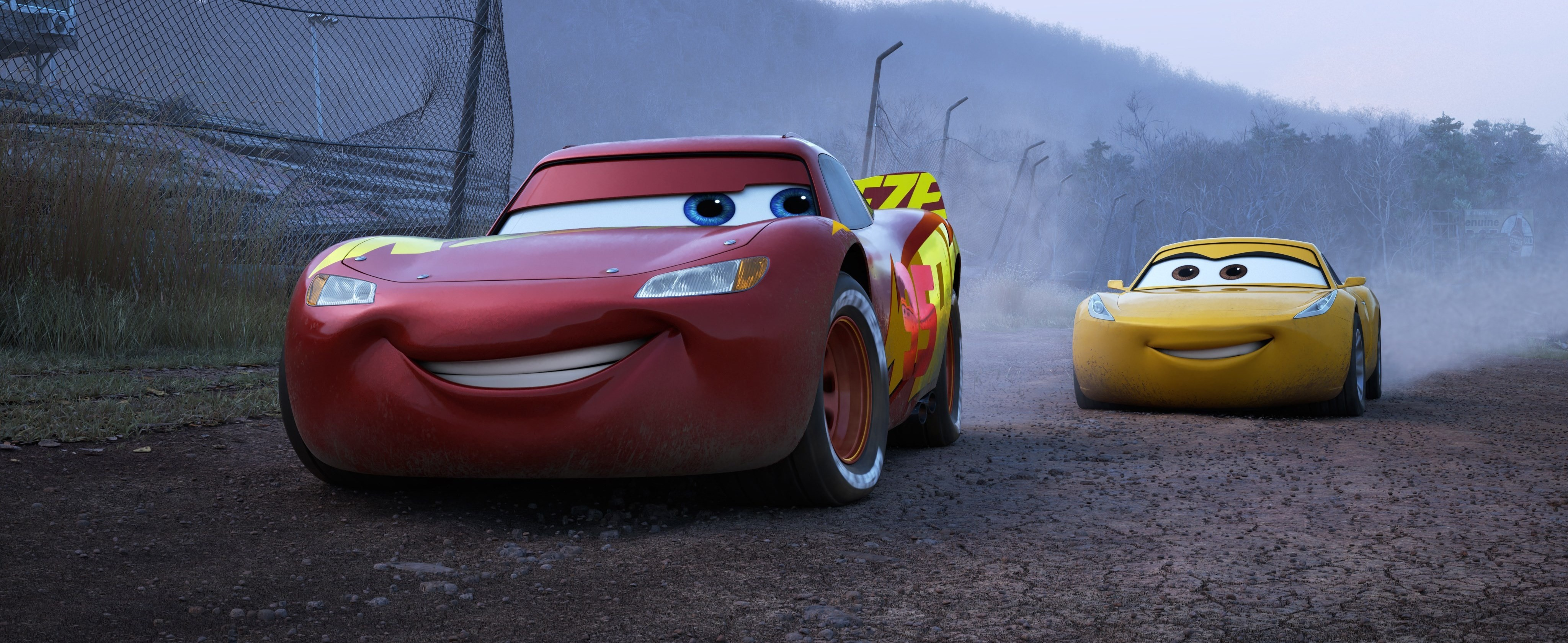 b0acdeb3f3209c Cruz Ramirez Lightning McQueen · HD Wallpaper