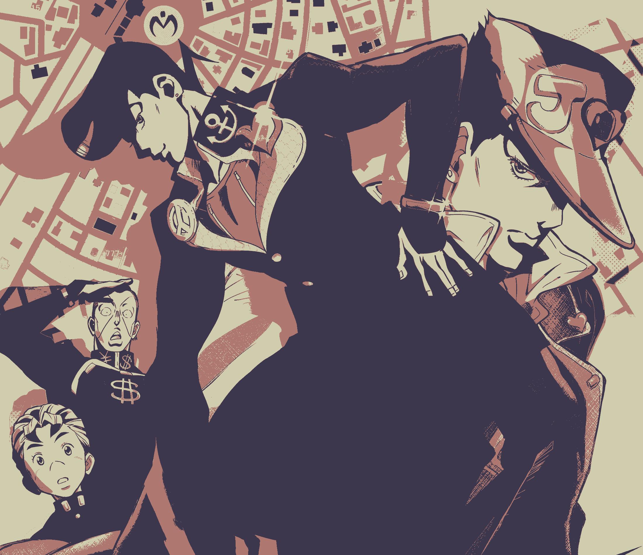 Jojo's Bizarre Adventure HD Wallpaper