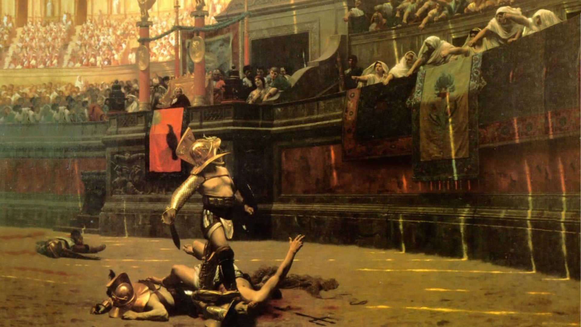 Artistic - Painting  Rome Arena Gladiator Artistic Wallpaper