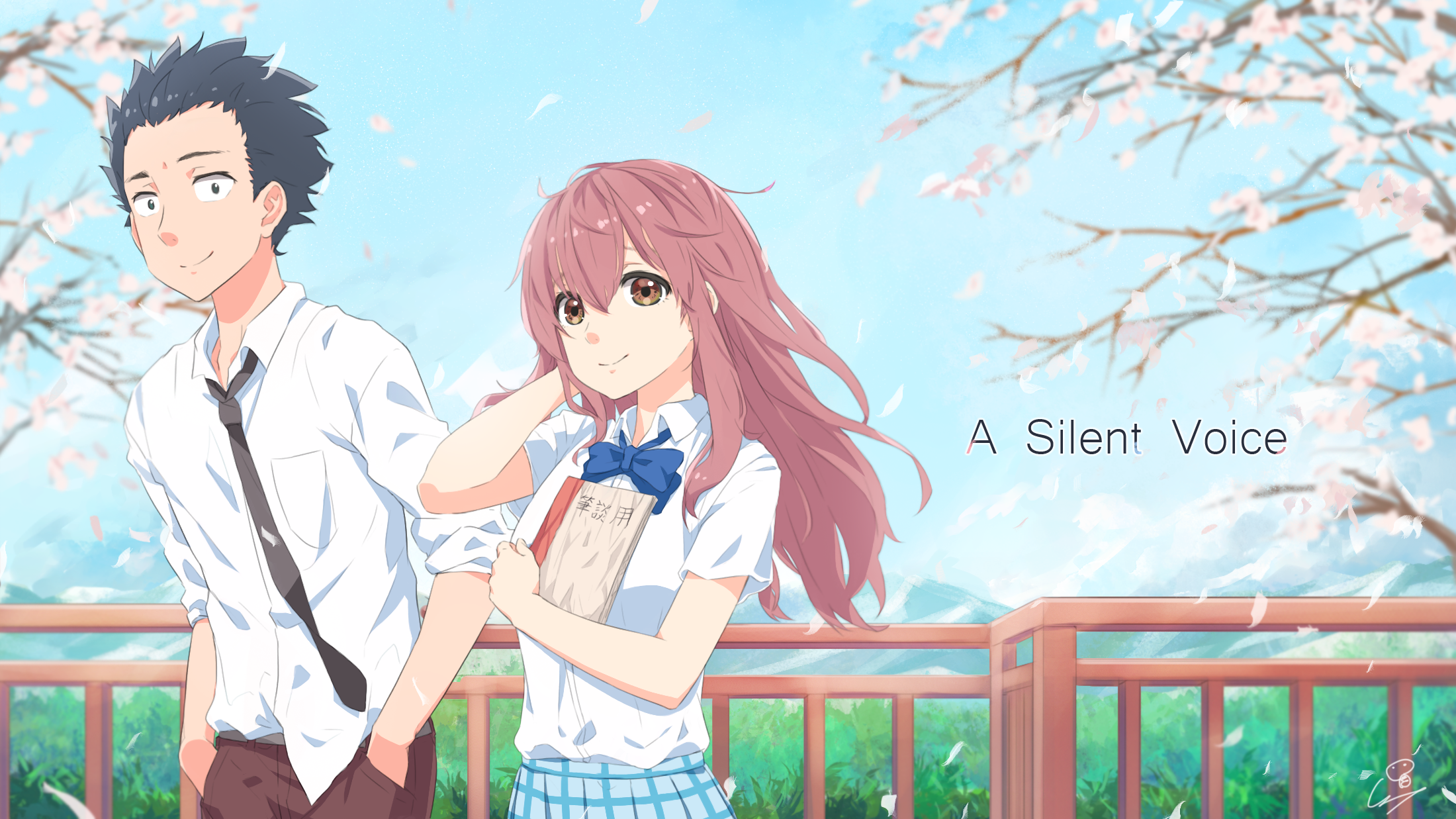 Koe No Katachi Hd Wallpaper Background Image 2200x1237 Id