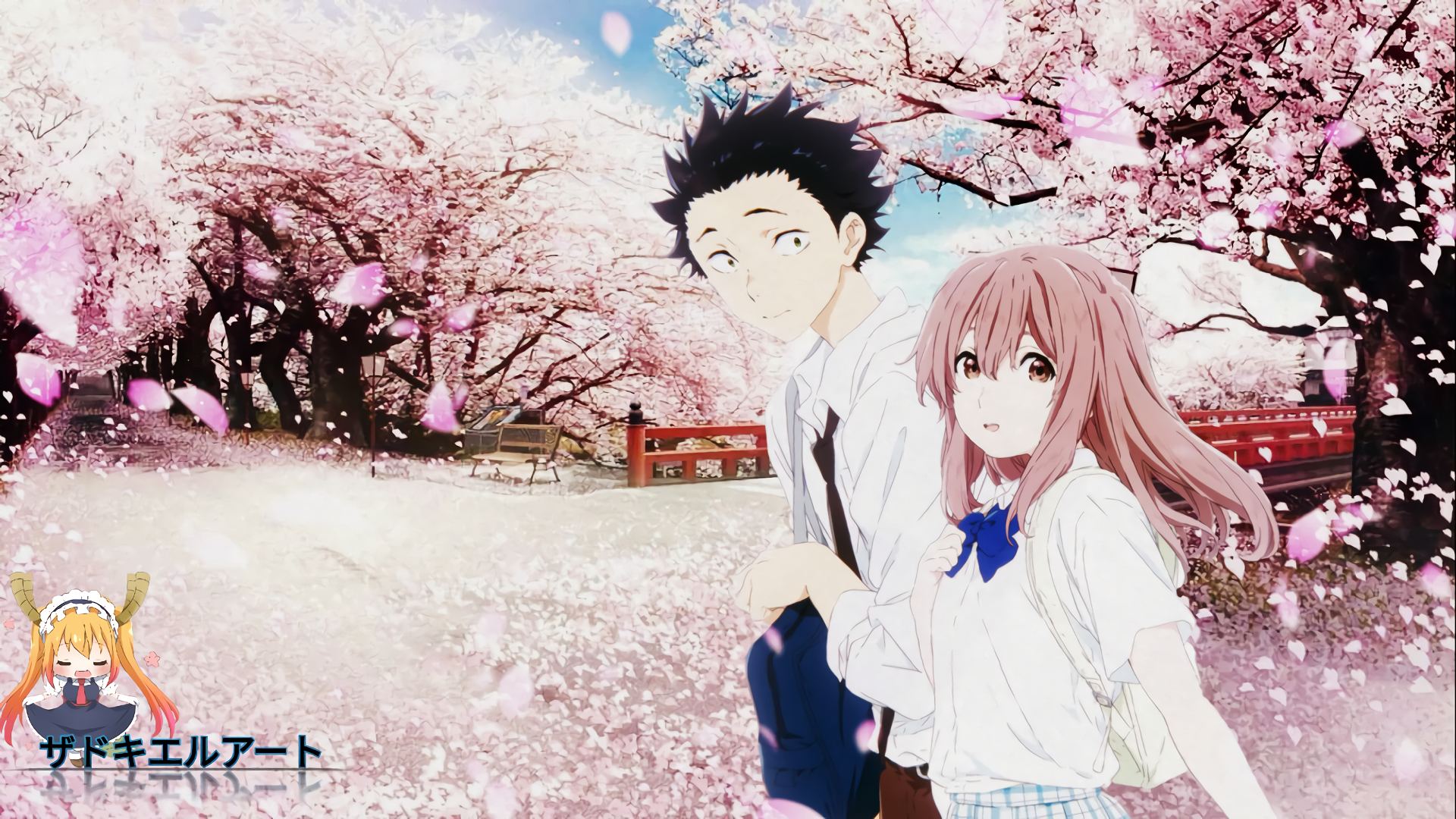 Image Result For Download Wallpaper Anime Koe No Katachi Hd