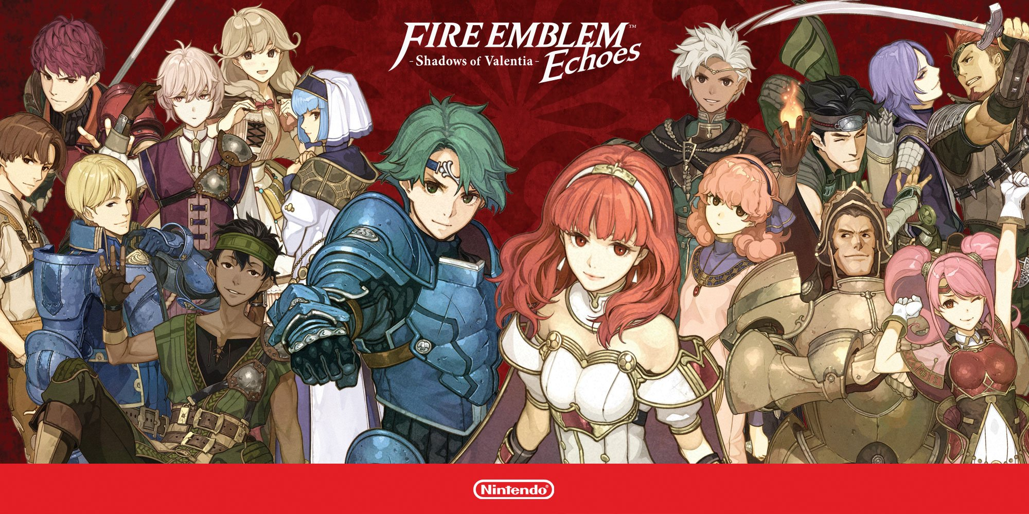 23 Fire Emblem Echoes: Shadows of Valentia HD Wallpapers