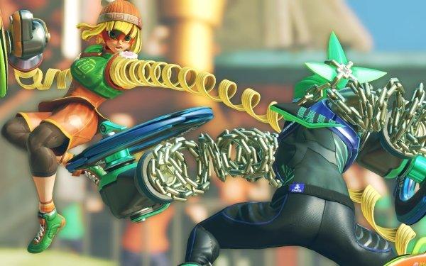 Video Game Arms Min Min Ninjara HD Wallpaper | Background Image