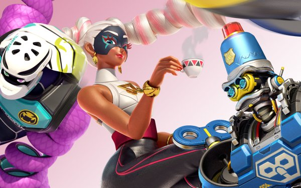 Video Game Arms Twintelle Kid Cobra Byte HD Wallpaper | Background Image