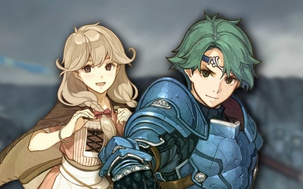 Video Game Fire Emblem Echoes: Shadows of Valentia Alm Faye HD Wallpaper | Background Image