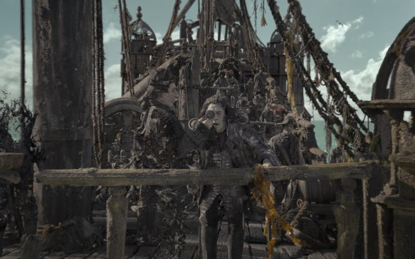 Movie Pirates Of The Caribbean: Dead Men Tell No Tales Javier Bardem Captain Salazar HD Wallpaper | Background Image