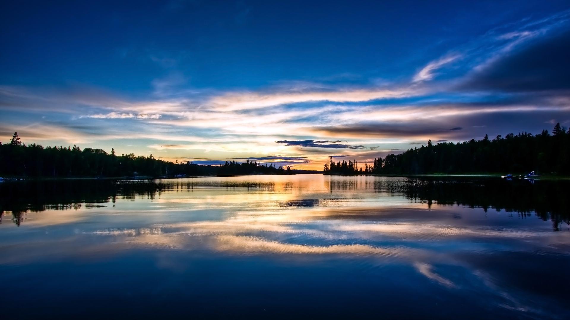 Sonnenuntergang Full HD Wallpaper And Hintergrund
