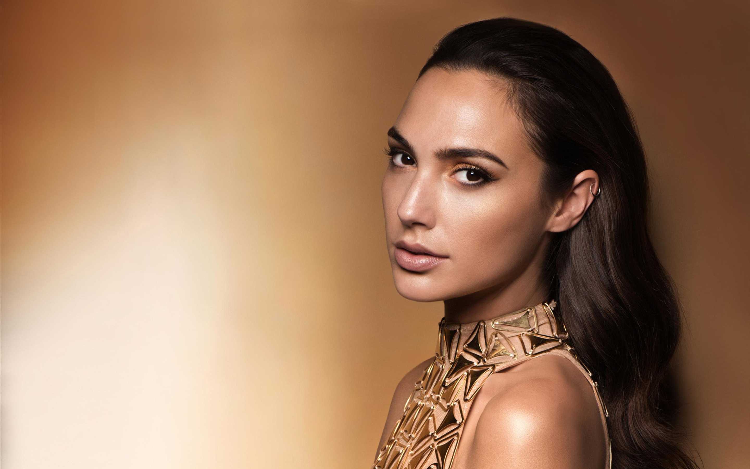 Gal gadot full hd wallpaper and background image 2880x1800 id837777 celebrity gal gadot actress brown eyes brunette necklace wallpaper voltagebd Gallery