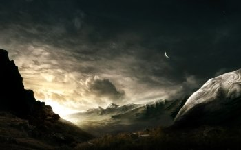 Sci Fi - Landscape Wallpapers and Backgrounds ID : 83741
