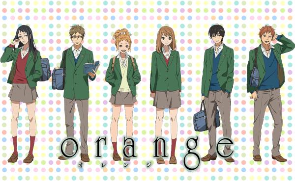Anime Orange Azusa Murasaka Hiroto Suwa Kakeru Naruse Naho Takamiya Saku Hagita Takako Chino HD Wallpaper | Background Image
