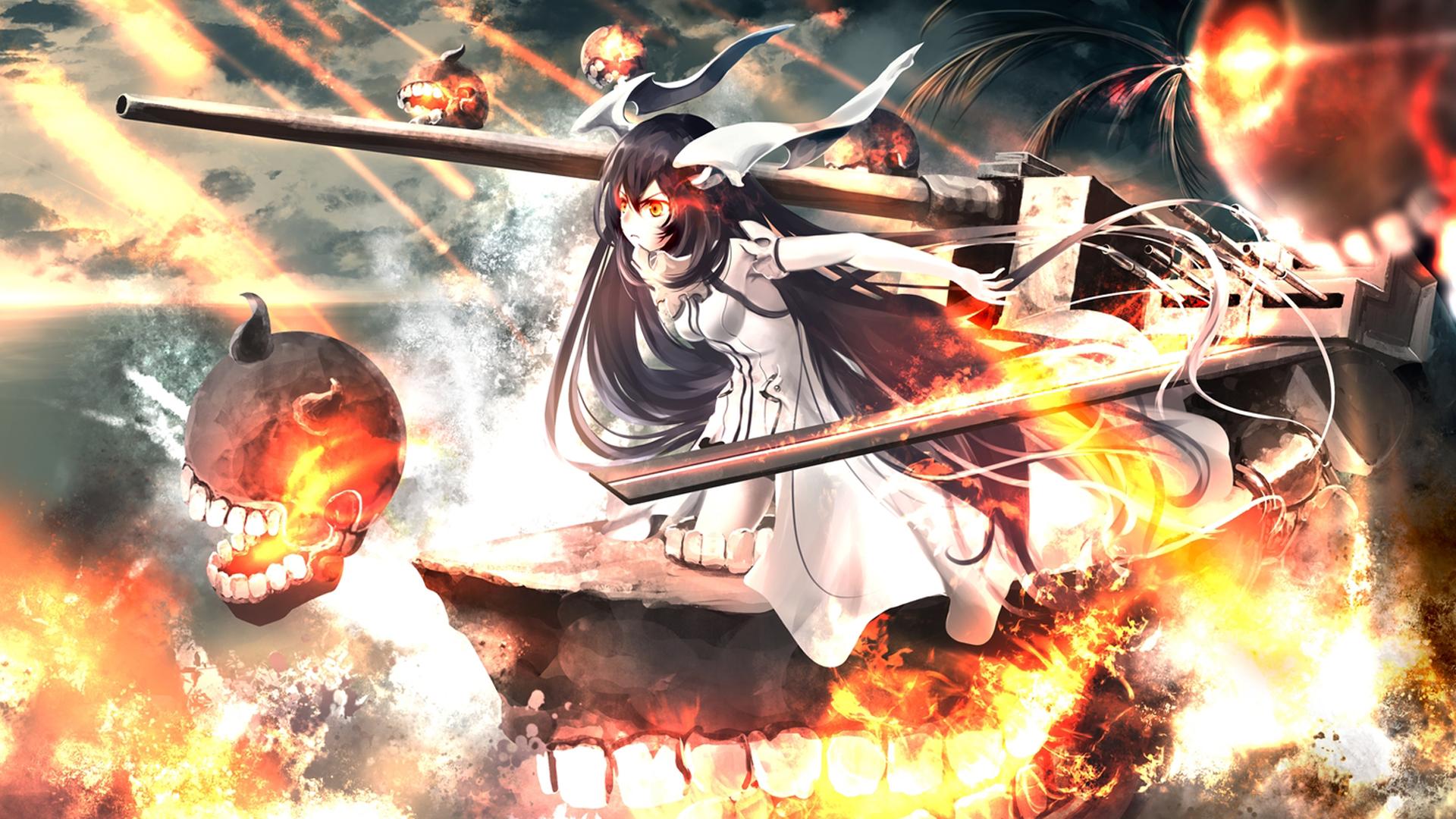 Anime - Kantai Collection  Anchorage Demon (Kancolle) Wallpaper