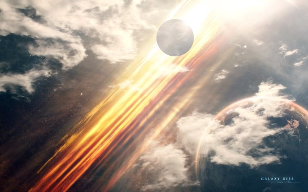 Sci Fi Planets Planet Stars HD Wallpaper | Background Image